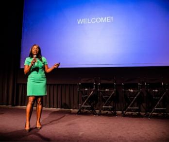 Julia Olayanju Speaking